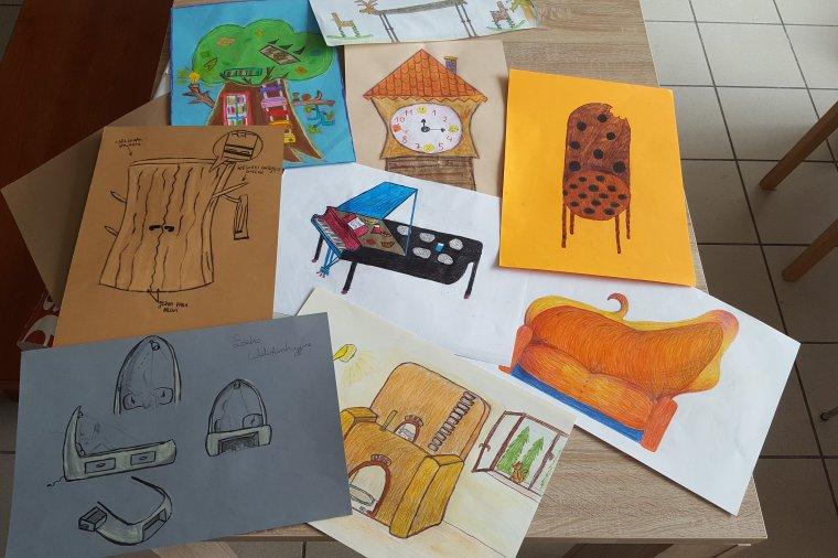 Mój wymarzony mebel - Dzieci zaprojektowały meble
