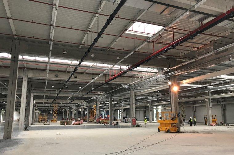 Trwa rozbudowa fabryki sia Abrasives w Goleniowie