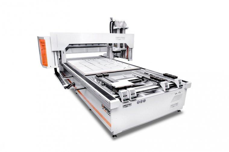Wielooperacyjne centrum CNC do produkcji mebli InfoTEC PRO Hybrid