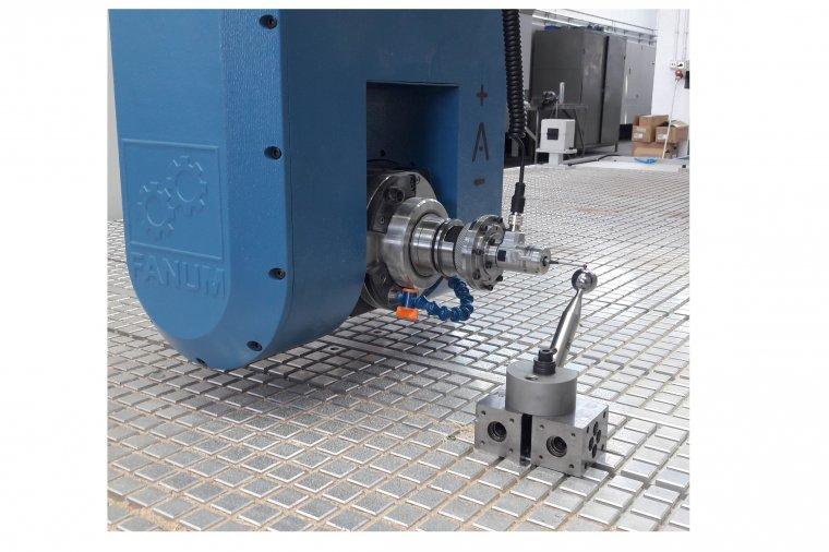 System autokalibracji do wieloosiowych maszyn CNC