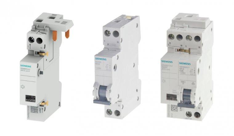 Detektor 5SM6 dedykowany do wyłączników nadmiarowoprądowych 5SY60 firmy Siemens.