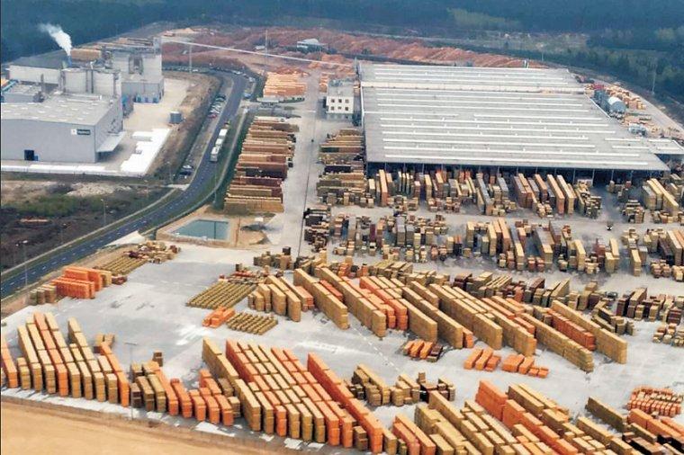 Zakład produkcji wyrobów programu ogrodowego i fabryka pellet w Zielonej Górze