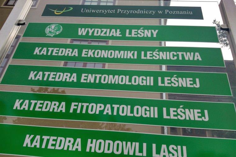 Polska Komisja Akredytacyjna ponownie wyróżniła poznański Wydział Leśny
