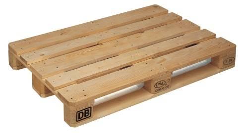Paleta płaska drewniana typu EUR