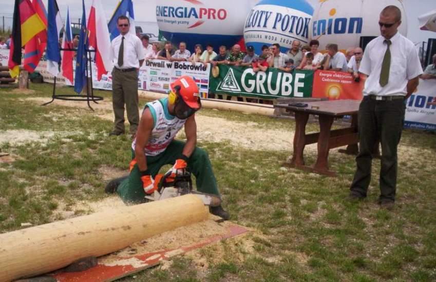Dokładność przyżynki demonstruje Miroslav Prno