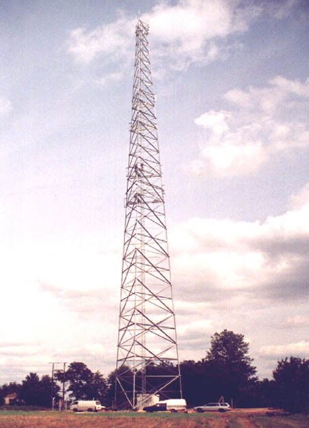 Maszt telekomunikacyjny<br>fot. Orion