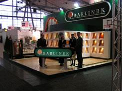 Ekspozycja Barlinka na<br>targach Domotex 2004