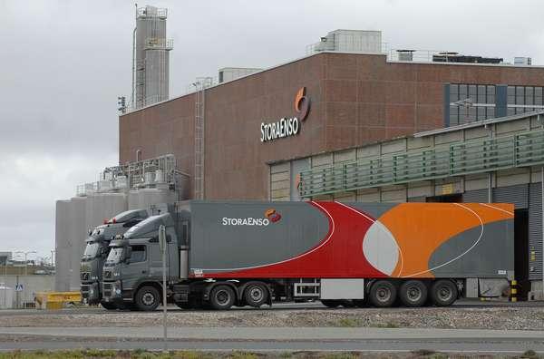 Fabryka w Veitsiluoto<br>fot. Stora Enso