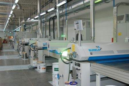 Nowa linia produkcyjna<br>fot. Barlinek