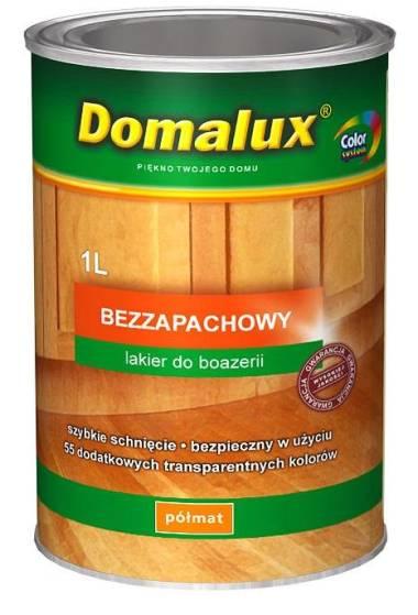 <font color=gray>Lakier Domalux<br>Bezzapachowy Połysk</font>