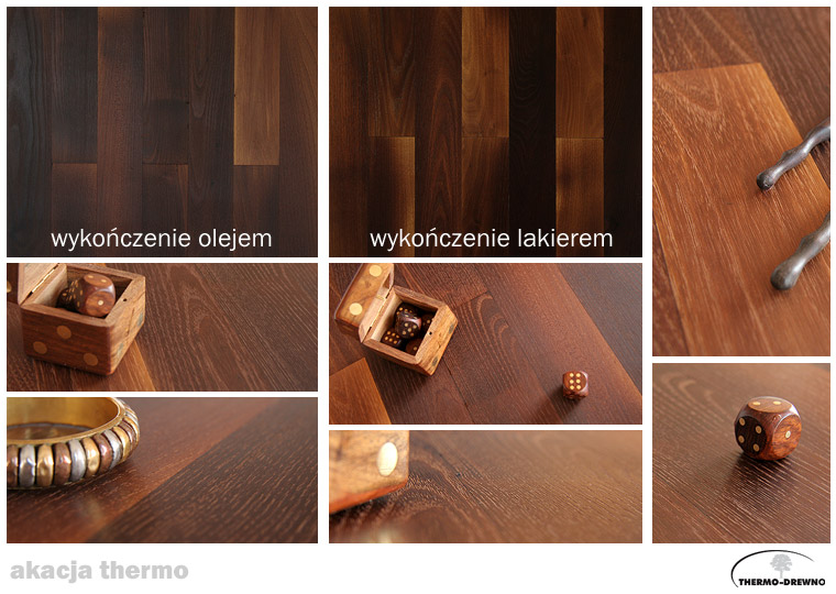 Podłogi z thermo-drewna