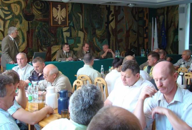 RDLP w Olsztynie rozmawia z przedsiębiorcami leśnymi