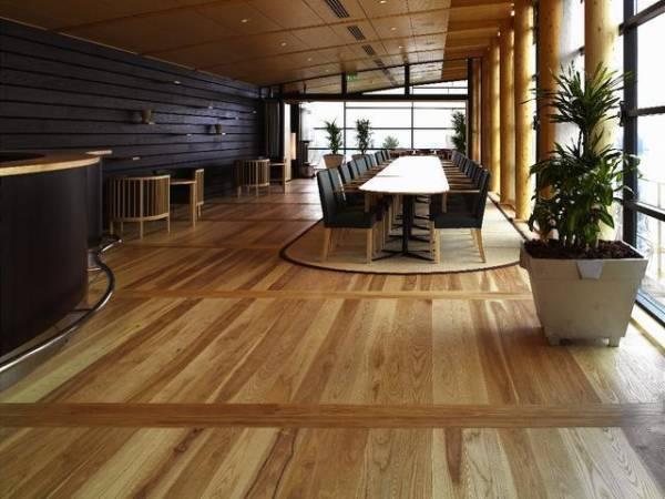 Produkcją m.in. podłóg z drewna zajmuje się część koncernu Södra znana pod marką Gapro