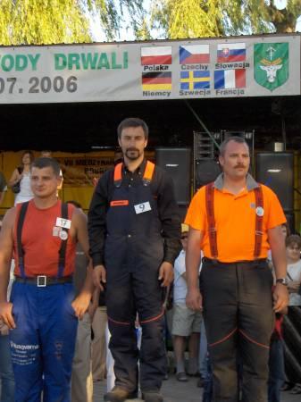 Jacek Stochniałek (w środku), Bobrowa 2006