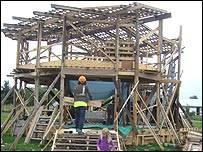 Galerię Amphis budowało 40 ochotników