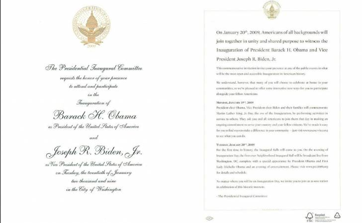 Zaproszenie  z certyfikatem FSC
