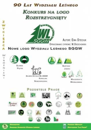 Wyniki konkursu na nowe logo Wydziału Leśnego SGGW