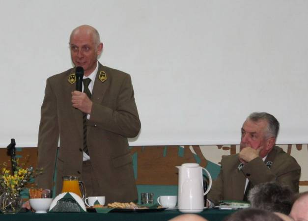 Spotkanie gdańskich leśników z wiceministrem środowiska
