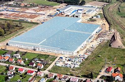 W 2008r. Swedwood Polska otwarł fabrykę mebli w Wielbarku