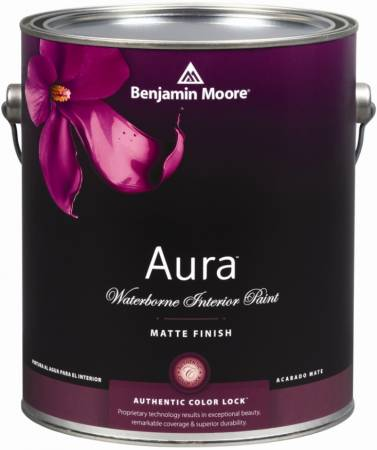 AURA® MATTE WATERBORNE INTERIOR PAINT 522