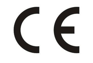 Znak CE poświadcza, że wyrób jest zgodny z odnoszącymi się do niego wymaganiami prawnymi związanymi z szeroko pojętym bezpieczeństwem.
