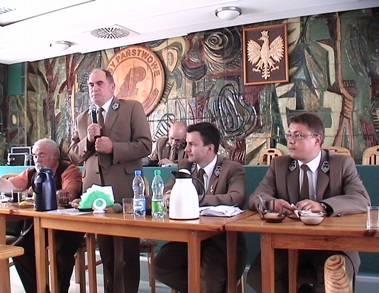 Rozmowy leśników z przedsiębiorcami leśnymi w RDLP Olsztyn