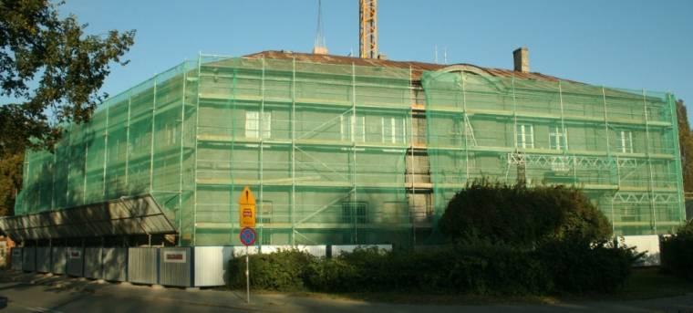 Rewitalizowany budynek Straży Pozarnej