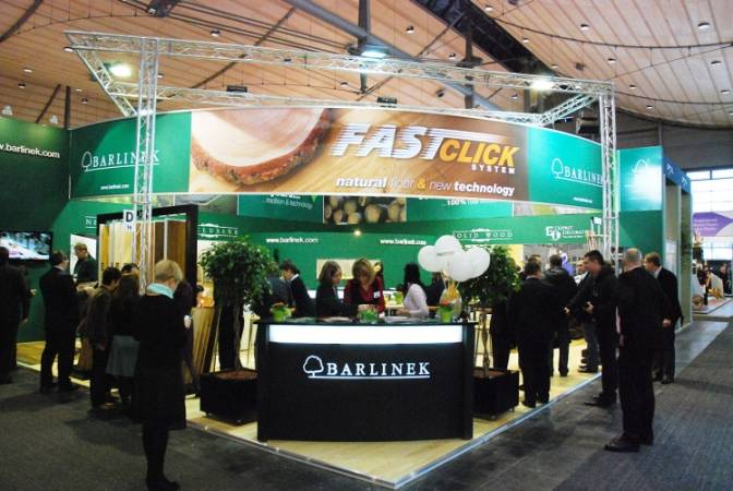 Stoisko Barlinka na targach Domotex 2010