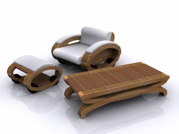 Komplet mebli tapicerowanych jaki produkować będzie tegoroczna Fabryka Mebli na Żywo