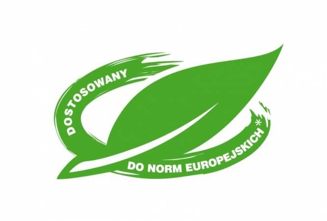 Produkty dostosowane do Dyrektywy posiadają na opakowaniu znak zielonego liścia.