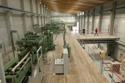 Jedna z linii przerobu drewna firmy Klausner