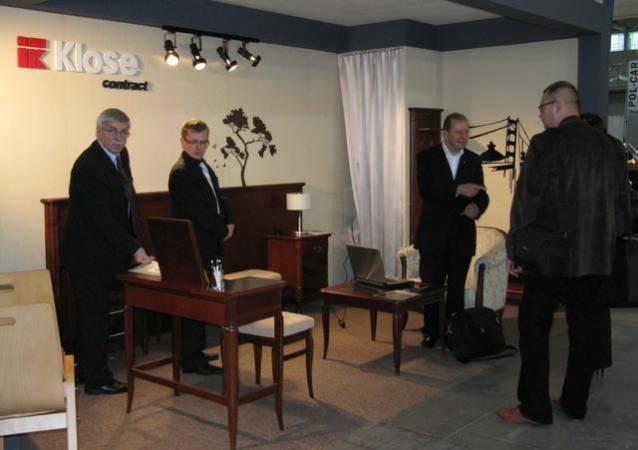 Kolekcja Mebli Klose na targach Invest-Hotel 2010