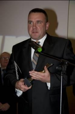 Z ramienia firmy Pfleiderer, statuetkę TupBuilder odebrał Robert Dziewulski.