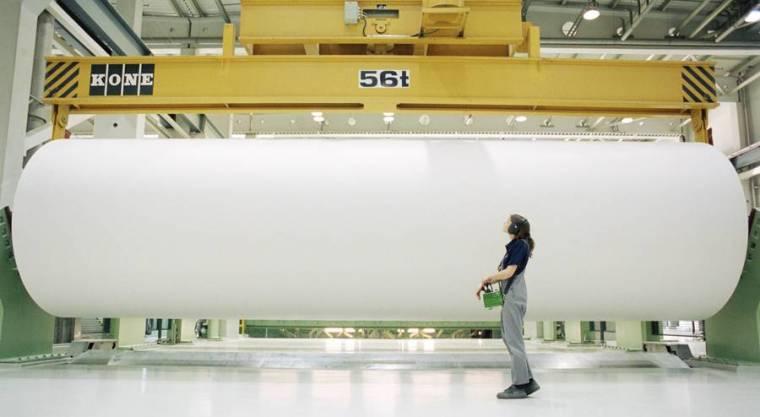 Fabryka papieru w Sachsen