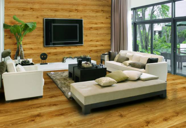 Opracowany przez Classen system Gekko, pozwala montować panele laminowane na ścianach