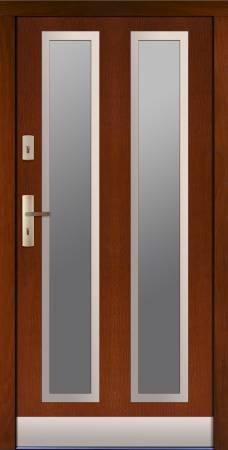 Drzwi Spytko z podłużnymi przeszkleniami