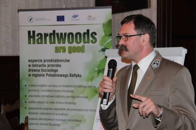 Nie tylko o drewnie liściastym mówili uczestnicy seminarium