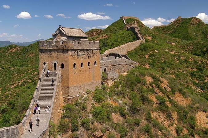 Wielki Mur Chiński w okolicy Jinshanling