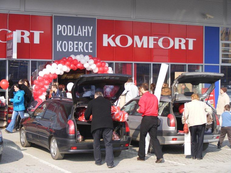 Nowy sklep Komfortu powstał w słowackim Prešov