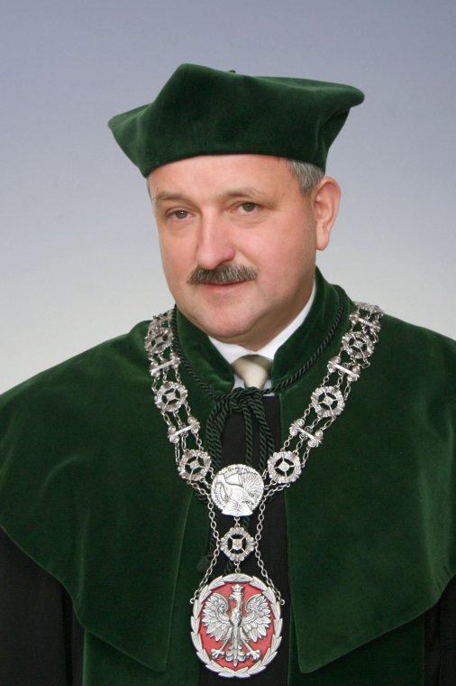 Prof. dr hab Roman Gornowicz, Dziekan Wydziału Leśnego UP w Poznaniu