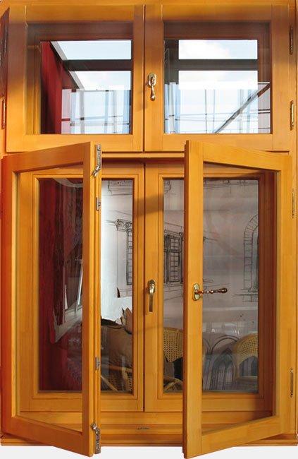 Okno skrzydłowe z oferty firmy BAS