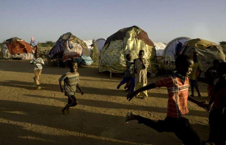 Somalijskie dzieci w obozie Dadaab