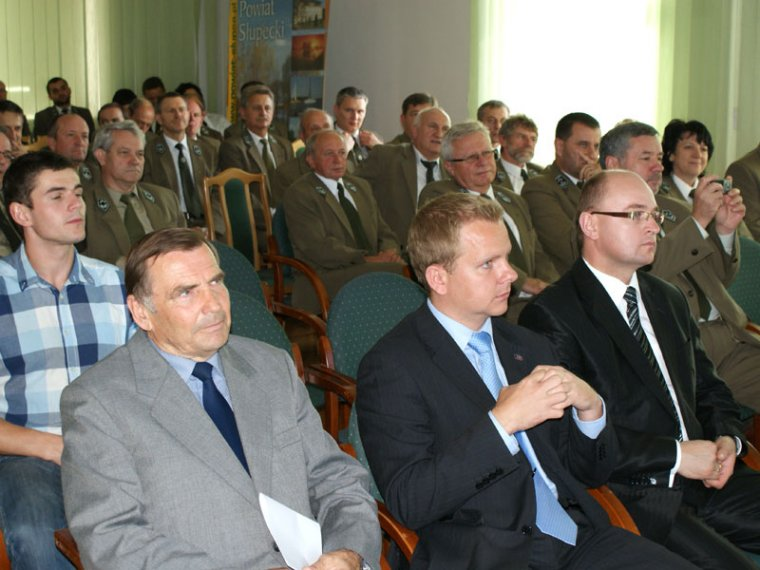 Konferencja na temat gospodarki leśnej w Starostwie Powiatowym w Słupcy