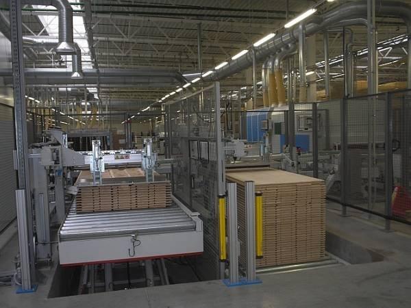 Linia produkcji deski barineckiej