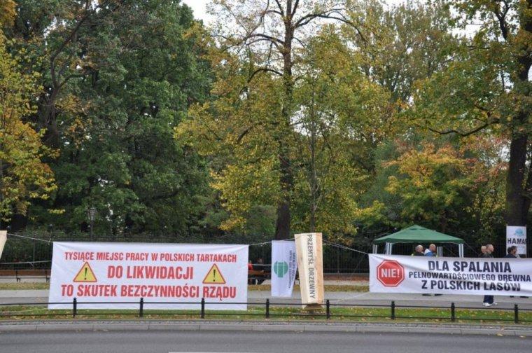 Pikieta Przemysłu Drzewnego w Warszawie