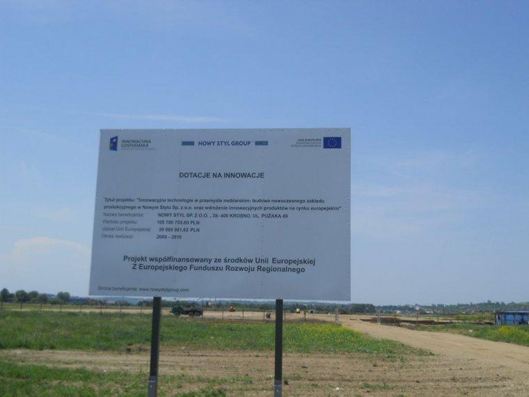 Nowy Styl buduje nową fabrykę mebli biurowych w Jaśle