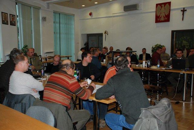 Spotkanie dyrektora RDLP w Łodzi z przedstawicielami sektora usług leśnych
