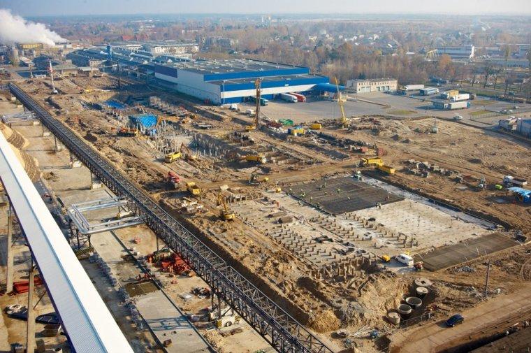 W Ostrołęce trwa budowa nowej linii produkcyjnej Stora Enso