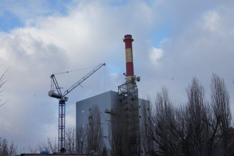 Budowa kotła na biomase – Elektrownia Szczecin