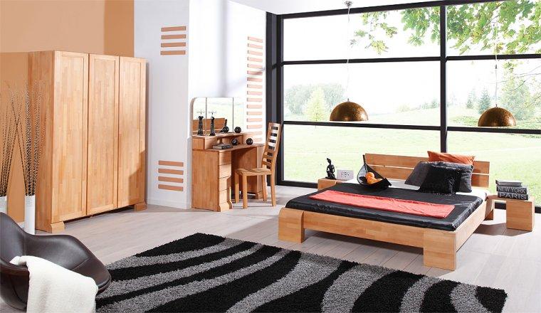 Łóżko z kolekcji Seti